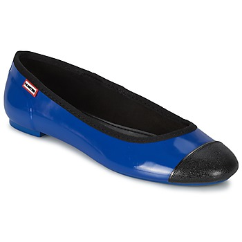 Shoes Women Ballerinas Hunter ORIGINAL BALLET FLAT Cobalt
