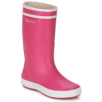 Boots Aigle LOLLY-POP Pink / White 350x350