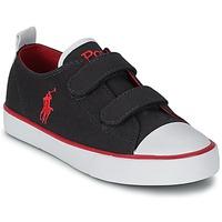 Shoes Children Low top trainers Polo Ralph Lauren WHEREHAM LOW EZ Blue