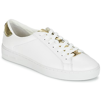 Shoes Women Low top trainers MICHAEL Michael Kors IRVING White / GOLD
