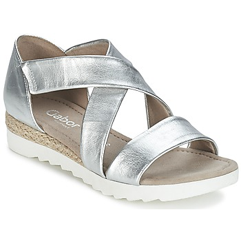 Shoes Women Sandals Gabor WOLETTE Silver