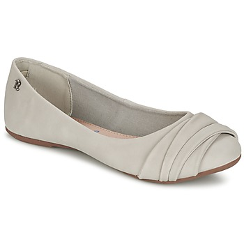 Shoes Women Ballerinas Refresh SHANNON Grey