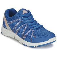 Shoes Girl Low top trainers Kappa ULAKER Blue / Orange