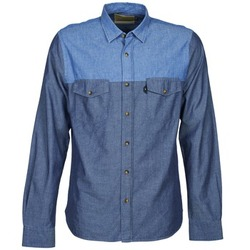 material Men long-sleeved shirts Chevignon CL TINTO Blue