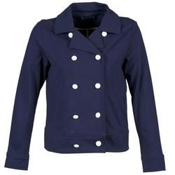 material Women Jackets / Blazers Petit Bateau FLORINE MARINE