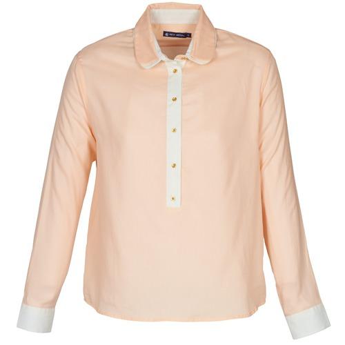 material Women Shirts Petit Bateau FILAO Pink