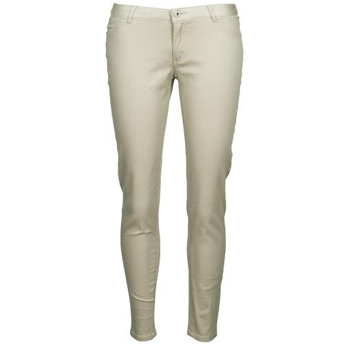 material Women 5-pocket trousers Little Marcel PRANTI Beige