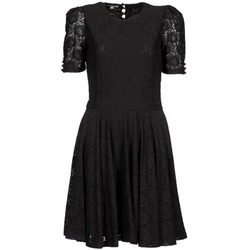 material Women Short Dresses Brigitte Bardot BB44205 Black