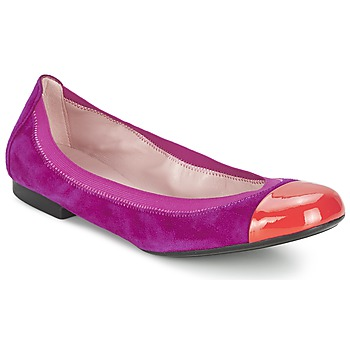 Shoes Women Ballerinas Pretty Ballerinas HONEY Violet