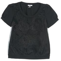 material Women Blouses Brigitte Bardot BB44160 Black