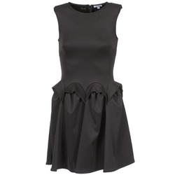 material Women Short Dresses Brigitte Bardot BB44204 Black
