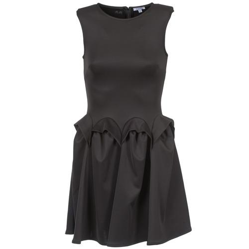 material Women Short Dresses Brigitte Bardot BB44204 Black