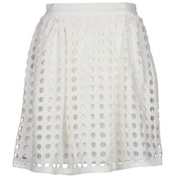 material Women Skirts Brigitte Bardot BB44196 White