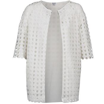 material Women coats Brigitte Bardot BB44197 White