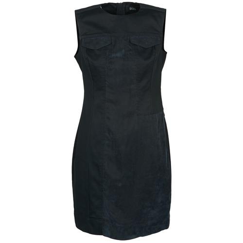 Dresses Diesel D-SIRY Black 350x350