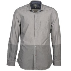material Men long-sleeved shirts Diesel SAUSAN Grey