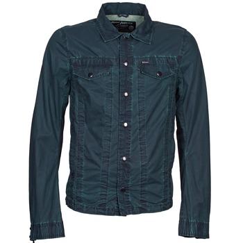 material Men Denim jackets Diesel J-XOCHILL MARINE