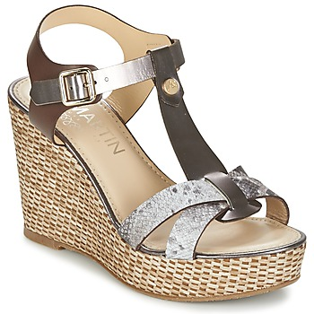 Shoes Women Sandals JB Martin OURAGAN Bronze / Python