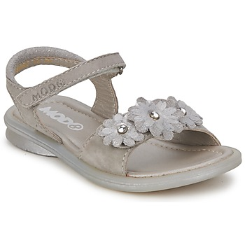 Shoes Girl Sandals Mod'8 JUKA Silver