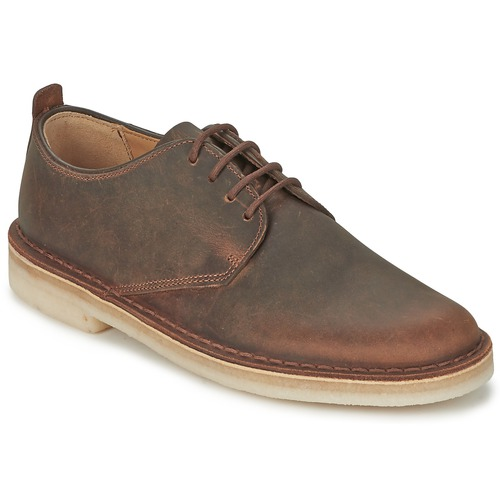 Smart shoes Clarks DESERT LONDON Brown 350x350