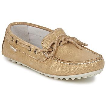 Shoes Girl Loafers Garvalin KIOWA JUVENIL Gold