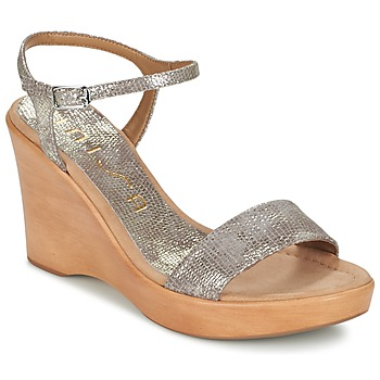 Shoes Women Sandals Unisa RITA GOLD