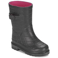 Shoes Girl Wellington boots Be Only CROCO Black