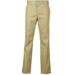 material Men 5-pocket trousers Dickies SLIM FIT WORK PANT Beige