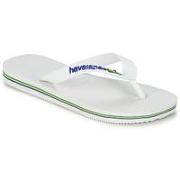 Shoes Children Flip flops Havaianas BRASIL LOGO White