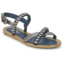 Shoes Women Sandals Schmoove MEMORY LINK Silver / Marine