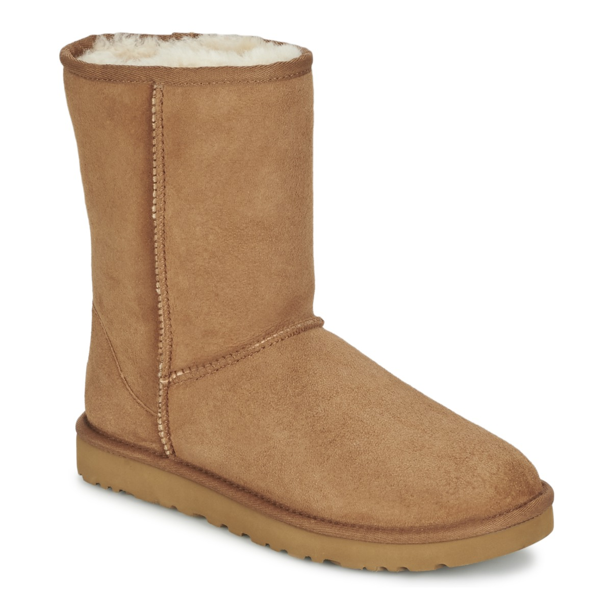Ugg Classic Short Chestnut Fast Delivery With Spartoo