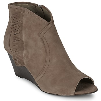 Shoes Women Low boots Ash DRUM Taupe