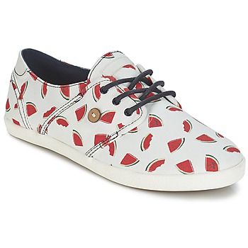 Shoes Women Low top trainers Faguo CYPRESS White / Red
