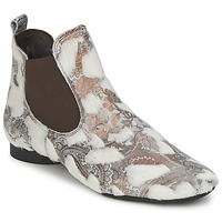 Shoes Women Mid boots Think ASSAM BEIGE