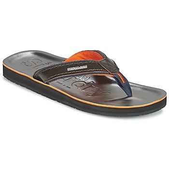Shoes Men Flip flops Superdry KRUGER TOE POST Brown