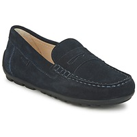 Shoes Boy Loafers Geox FAST Blue