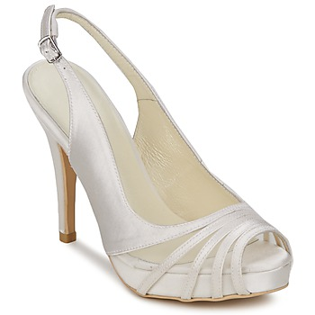 Shoes Women Sandals Menbur PAULOVA Ivory