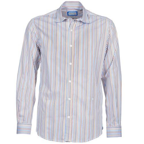 material Men long-sleeved shirts Serge Blanco DORILANDO Multicoloured