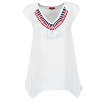 material Women short-sleeved t-shirts Derhy GALION White