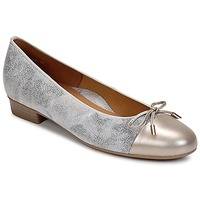 Shoes Women Ballerinas Ara ELIALE Grey / Gold