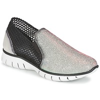 Shoes Women Low top trainers Felmini ARJEMISE Silver / Black
