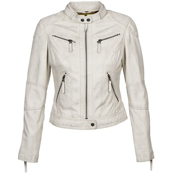 material Women Leather jackets / Imitation leather Oakwood 60135 White