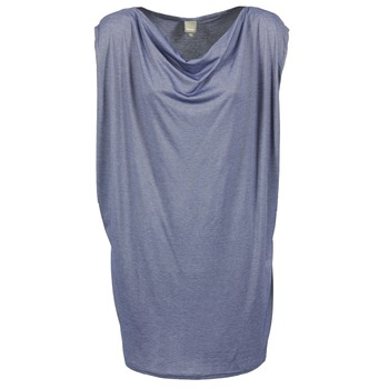 material Women Short Dresses Bench TRUISM Blue