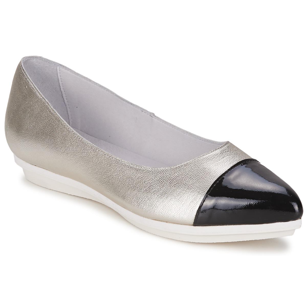 Ballerinas Alba Moda DRINITE Silver / Black