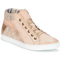 Shoes Women High top trainers Dream in Green MOLIMELA BEIGE / Pink