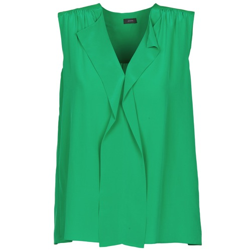 material Women Tops / Sleeveless T-shirts Joseph DANTE Green