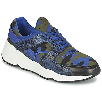 Shoes Women Low top trainers Ash MATRIX Blue / Camouflage