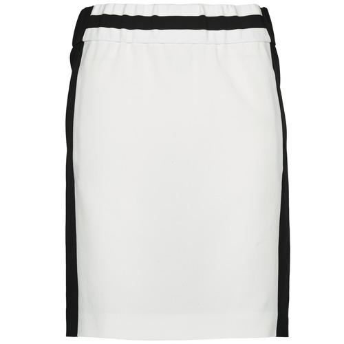 material Women Skirts Joseph RIA-TECHNO Black / White
