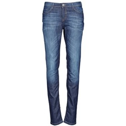 material Women slim jeans Chipie NIEBLA Blue