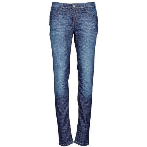 material Women slim jeans Chipie NIEBLA Blue